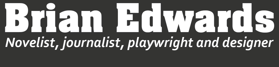 Website of the writer Brian Edwards
